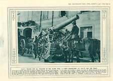 1916 SOLDATI facendo una trincea Copertura nel tempo libero ITALIA Alpine PISTOLE