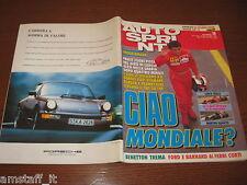 AUTOSPRINT 1991/18=GP F.1 IMOLA=AYRTON SENNA=JEAN ALESI=JAGUAR XJR15=
