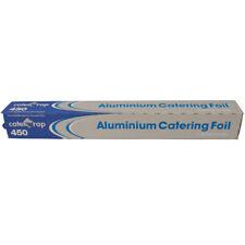 2 Rollos Hoja de Aluminio Catering caterwrap Profesional 450mm X 75m Cubierta De Alimentos