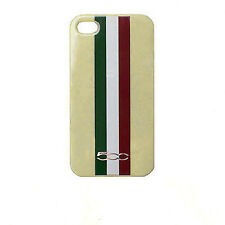 CUSTODIA CASE FIAT 500 FACEPLATE TRICOLORE per APPLE IPHONE 4 4G 4S