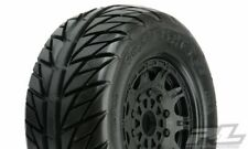 1167-24 Pro-Line Street Fighter SC Tires Mounted on 17mm Hex Raid Wheels (2)