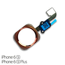 """For iPhone 6S 4.7"""" Home Button Rose Gold Flex Cable Main Menu Button Rose Gold"""