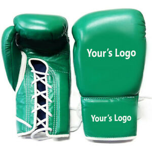 """New Custom Made Leather Boxing Gloves Any """" Reg """" Brand, Logo or Name, Article 2"""
