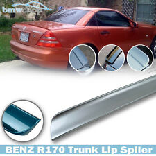 Painted Color #744 Mercedes Benz SLK R170 Convertible Rear Lip Spoiler Wing