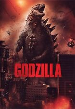 GODZILLA (DVD) con Aaron Taylor-Johnson, CJ Adams, Ken Watanabe 2014 Edition