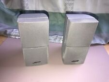 Bose Lifestyle Acoustimass Doppelcube Lautsprecher Serie III , Silber , EIN Paar
