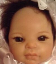 Ashton Drake 10inchTiny Miracle ROSIE RETIRED&OOAK Crib By ANNAMAY £95 To Buy