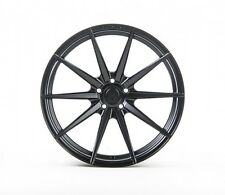 20x9/10 Rohana RF1 5x120 +20/25 Matte Black Wheels Fits Bmw 645 650 (2004-2010)