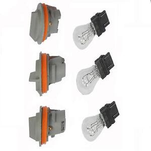 Tail Light Lamp 3 Sockets + 3 Light Bulbs For NEW Dodge Jeep Grand Cherokee Rear