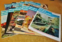 Modern Railroader Magazine - Qty. 12 Issues - All 1969 - Complete year - No Dups