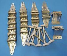 Garage Door Hardware Kit - Light Duty - 16x7 or 18x7 - Rollers, Hinges, Brackets