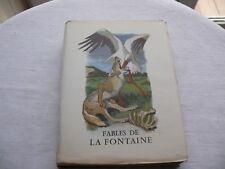 Fables de La Fontaine Collection Pastels Editions du Panthéon 1961