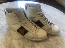 gucci ace high top sneakers- size 43 (US10)