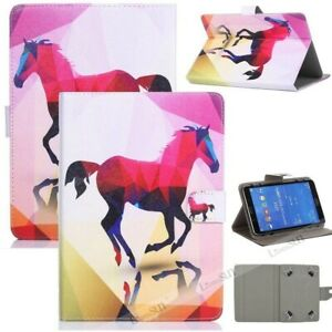 For RCA Voyager III RCT6973W43 7 inch Tablet Universal Stand Leather Case Cover