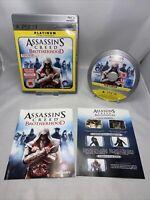 Assassin's Creed: Brotherhood -- Platinum Edition (Sony PlayStation 3, 2011)game