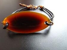 Modeschmuck-Armbänder aus Leder mit Perle für Damen