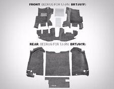 BedRug Complete 7-Piece Front and Rear Carpet Kit 1997-2006 Jeep Wrangler TJ