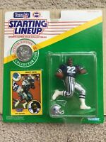 1991  EMMITT SMITH Starting Lineup Football Figure DALLAS COWBOYS  Rookie Card