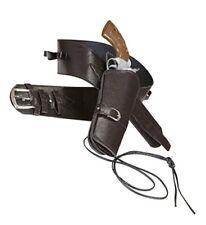 628871-widmann - Cinturone da Cowboy in similpelle Marrone con Fondina