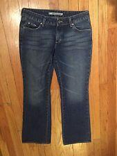 """Mavi Medium Wash """"Amelie"""" Super Low Rise Bootcut Jeans Size 29"""