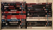 Horror DVD Bundle - Child's Play 1-6 - US - Halloween - IT - They Live FREE P&P