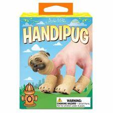 Archie McPhee HandiPug - Dog Pug Finger Hand Puppets  Novelty Toy