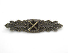 GERMAN ARMY WW2 1957 Issue German Close Combat Clasp in Bronze award