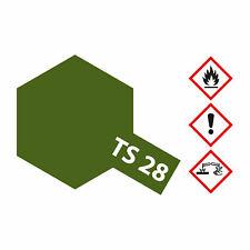 (8,23€/100ml) Tamiya TS-28 Braunoliv2 (Oliv.Drab2) matt 100ml Sprayfarbe Kunstha