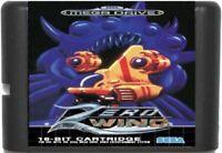 Zero Wing (1992) 16 Bit Game Card For Sega Genesis / Mega Drive System
