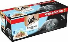 Sheba Fine Flakes Fish Collection In Jelly (40Pk) 85g - 712813