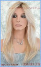 ZARA RENAU LACE FRONT MONOTOP WIG ROOTED BLONDE  24/102S12  LAGUNA  BLONDE NEW 2
