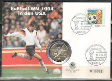 BRD Numisbrief  (6420 - Fußball -WM 1994)