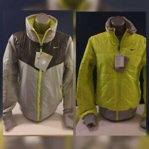 Women's Authentic Nike Reversible Hi-Viz Jacket - Cycling/Running - NEW- L & XL