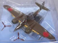 Kawasaki Ki 102 Raider 1/100 Scale War Aircraft Japan Diecast Display vol 80