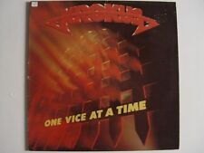 """KROKUS ONE VICE AT A TIME  12"""" Vinyl LP VG- HEAVY METALL ARISTA SPART 1189"""