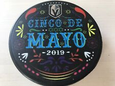 Vegas Knights Cinco De Mayo T Mobile Arena Exclusive Puck 2019 Holiday- RARE