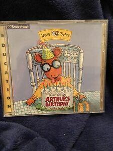 Arthur's Birthday Children's Educational CD-ROM 1997
