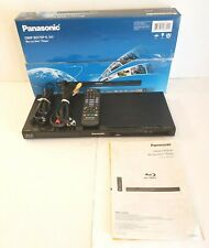 Panasonic DMP-BD75 Blu-Ray Disc Player w/ Remote AV Cable Power Supply Tested