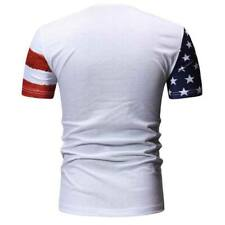 Men's summer short sleeve muscle tee casual o neck t shirt t shirts slim fit