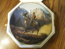 "Mystic Warriors 8"" Plate Collection Top Gun C.O.A. & foam packing"