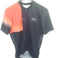 Rapha Cycling Men Medium Custom Midweight Race Jersey 50SPF High Wicking Pockets