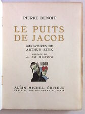 BENOÎT (Pierre). Le puits de Jacob. Miniatures de Arthur Szyk 1927
