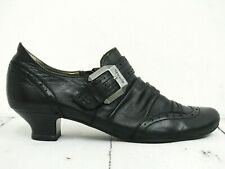 TAMARIS ☀ Pumps Gr. 39 Damen Leder Schuhe Schwarz Shoes