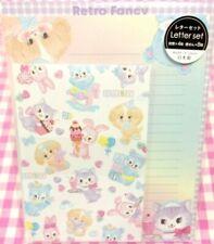 GAIA / Retro Fancy Rabbit Dog Cat Bear Letter Set / Made in Japan