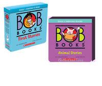 Bob Books Stage 1-2 First Stories & Animal Stories Lynn Maslen Kertell (Box Set)