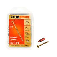 GRK 6x1-1//4 R4 Star Drive Flat Head 100 Pack