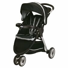 New Graco FastAction Fold Sport Click Connect 3-Wheel Stroller, Gotham - TG1_04