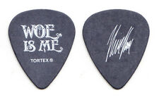 Woe, Is Me Kevin Hanson Signature Black Guitar Pick - 2013 Tour