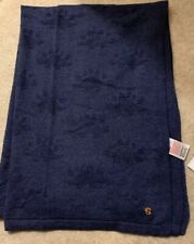 MOTHERCARE 100/% COTTON KNITTED BLUE TEXTURED DINOSAUR BLANET SHAWL 108 X 76CM BN