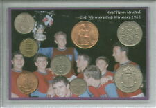 West Ham United Vintage European Cup Winners Final Retro Coin Gift Set 1965